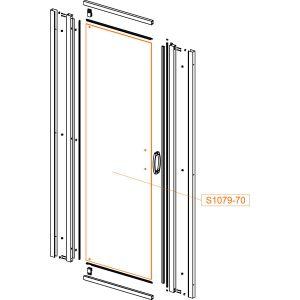 Door glass - safety glass sheet