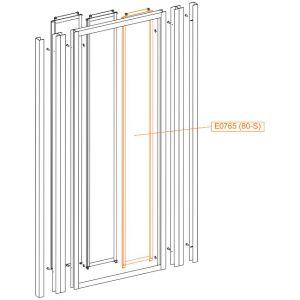 Element ruchomy wew-szkło hartowane