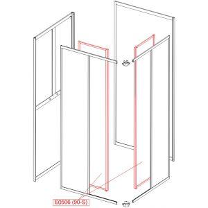 Element ruchomy - szkło hartowane