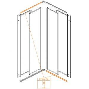 (L) lower, (R) upper horizontal profile