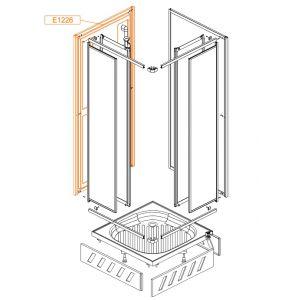 Element stały SS1-wytłoczka ABS