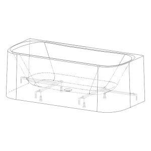 Bathtub frames