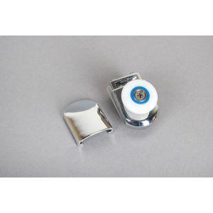 Slider - single detachable roller