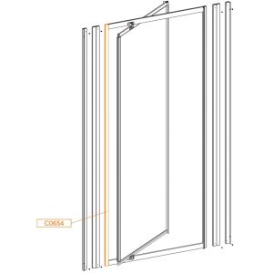 Frame vertical profile wys. 1850mm