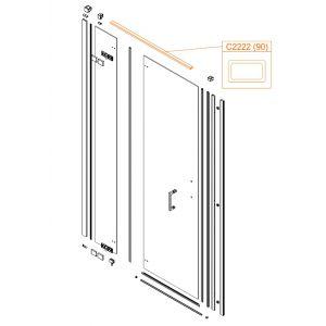 Profil aluminiowy - wspornik
