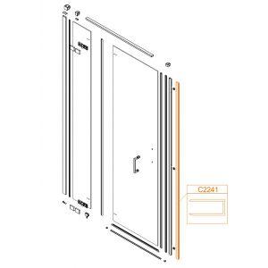 Profil aluminiowy pionowy