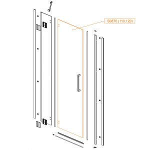 Moveable glass - safety glass sheet