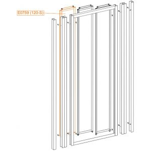 External moveable element - safety glass sheet