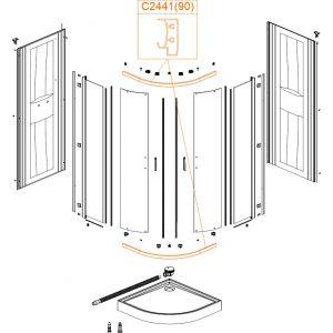 Horizontal profile-bearing