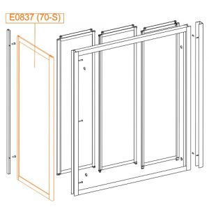 Element stały SS2-W-szkło hartowane