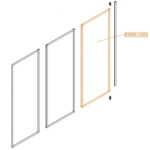 By-wall moveable element - polystyrene