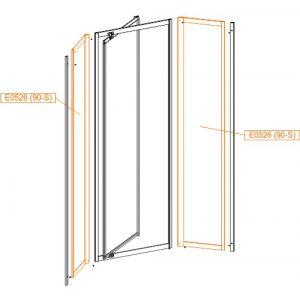 Element stały SS3-szkło hartowane