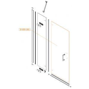 Szyba drzwi - szkło hartowane
