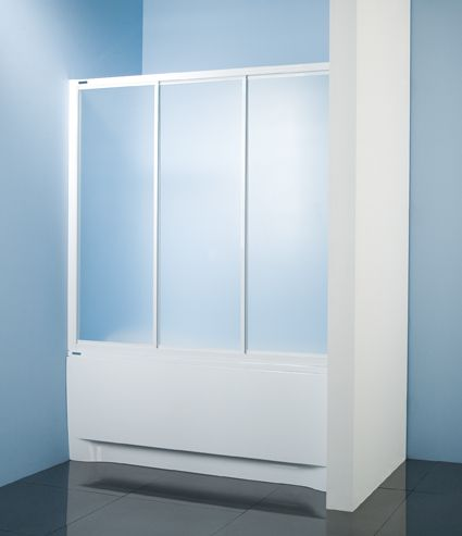 Wersja kabiny prysznicowej w kolorze białym z wypełnieniem z polistyrenu