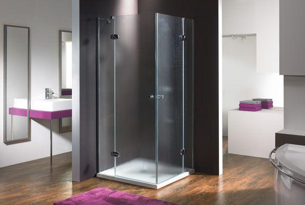 Wersja kabiny prysznicowej w kolorze chromowanym z wypełnieniem MC Master Carre