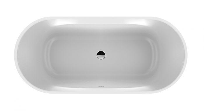 Complete freestanding oval bathtub Loft Line