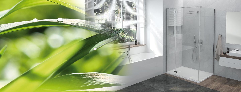 aranżacja łazienkowa z kabiną narożną wiosenne orzeźwienie