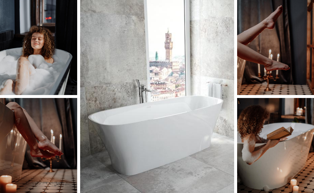How to arrange a bathroom in a retro style?