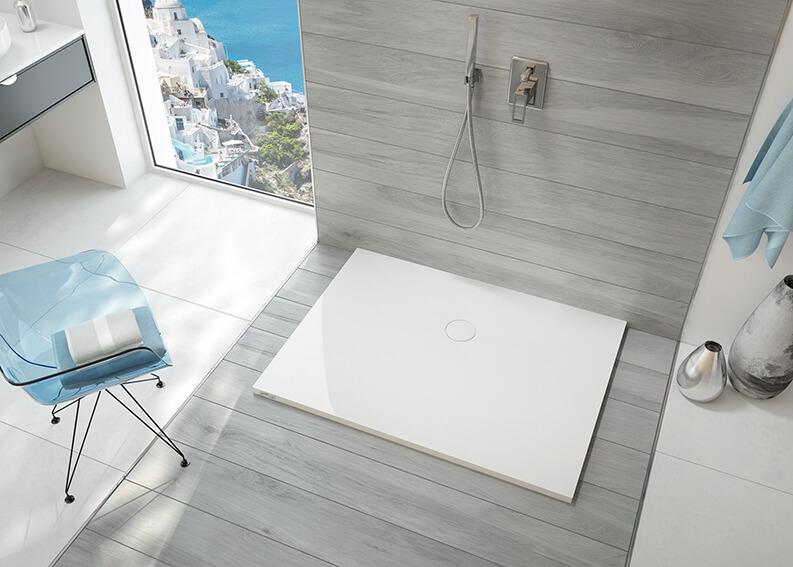 Brodziki Open Mineral – doskonałe rozwiązanie do nowoczesnej łazienki