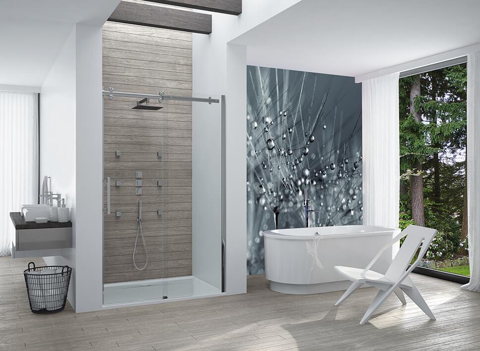 Drzwi prysznicowe – trendy w aranżacjach