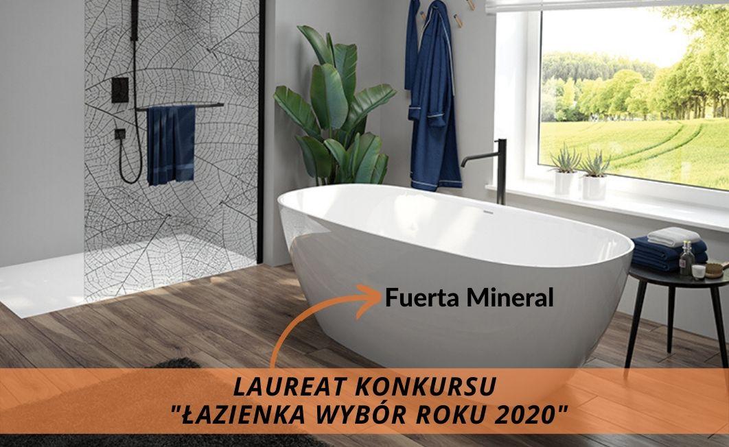Fuerta Mineral z nagrodą główną w konkursie Łazienka Wybór Roku 2020