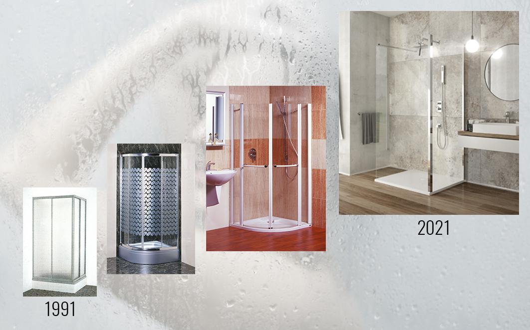SANPLAST shower enclosures - 30 years of pure showering pleasure