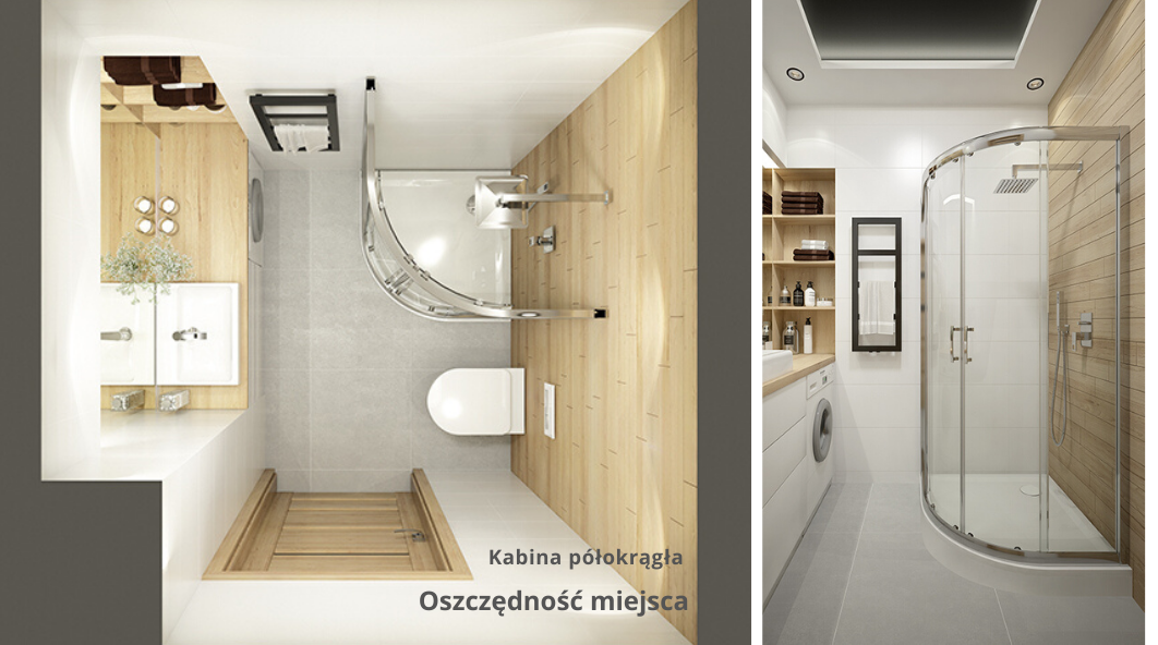 Quadrant shower enclosures  - save the space and make yourself comfortable