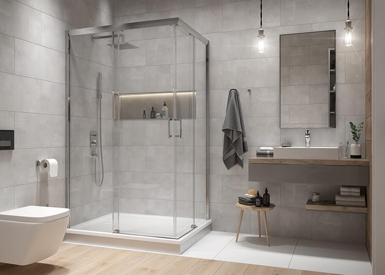 Łazienka niejedno ma imię - zobacz 3 oblicza niewielkiej łazienki