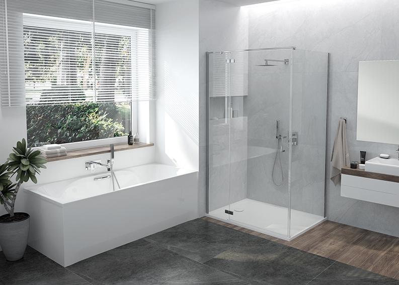 Łazienka z widokiem – zalety okna w łazience i posadowienie wanny pod oknem
