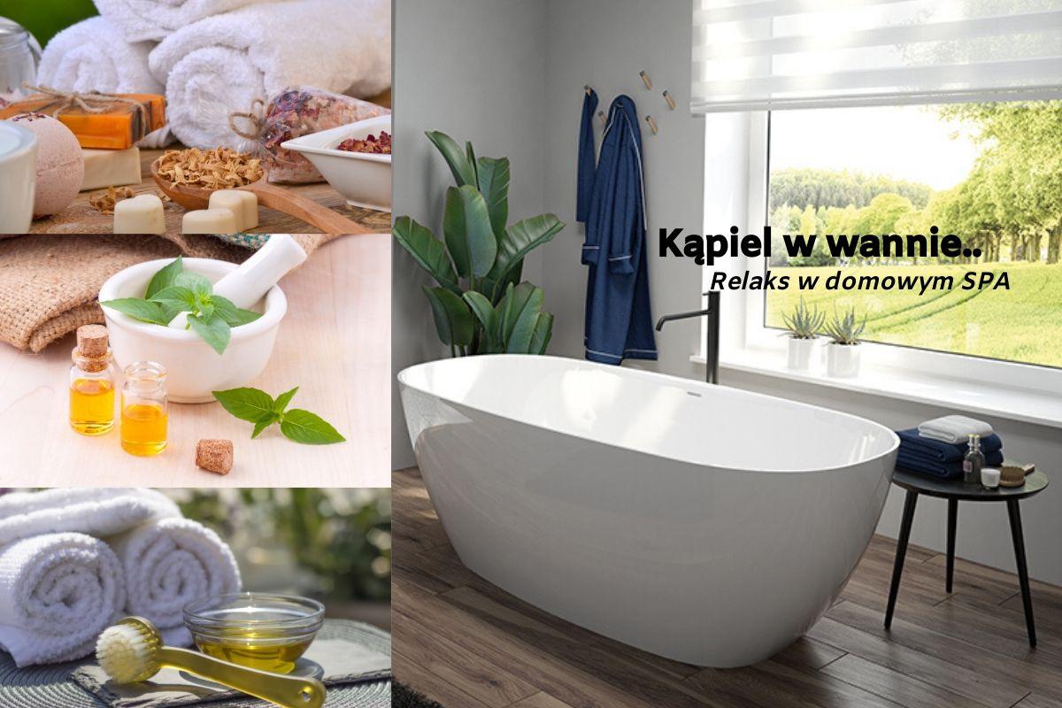 Kąpiel w wannie - Twój relaks w domowym SPA