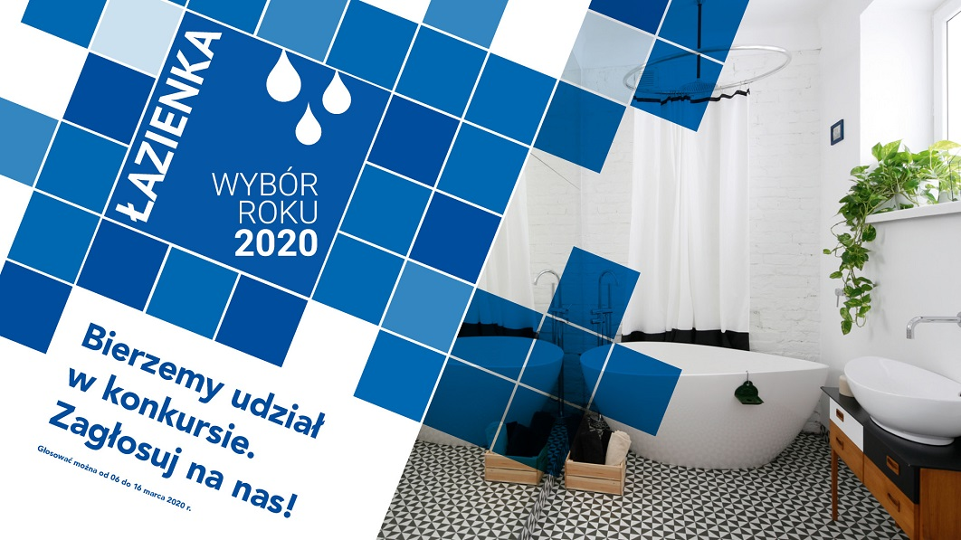 Łazienka – Wybór Roku 2020 – bierzemy udział w konkursie