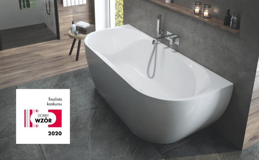 Sanplast Loft Line bathtubs are the finalist of the Good Design 2020 competition