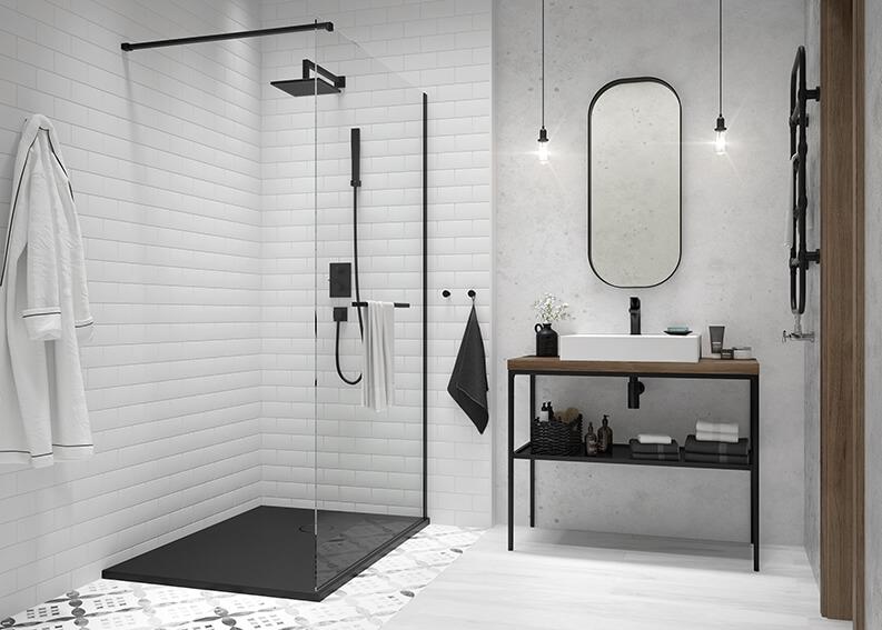 Łazienka w stylu nowojorskim od SANPLAST SA