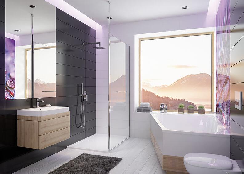 Nie daj się łazienkowej nudzie z SANPLAST SA