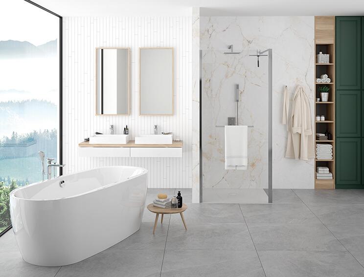 Pomysł na łazienkę - Klasyka w nowoczesnym wydaniu