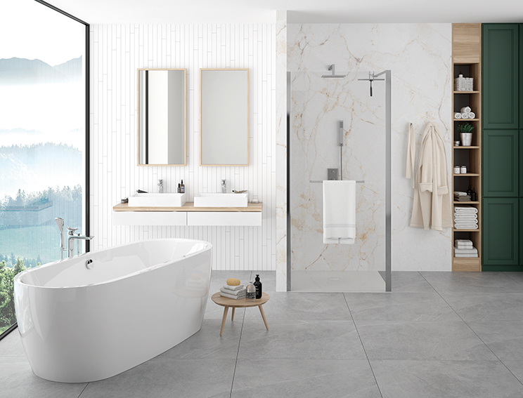 The idea for a bathroom - Classic with a modern twist