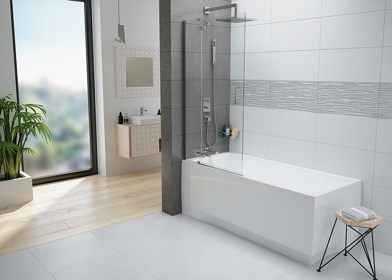 A bathtub with a shower screen - is it worth it?