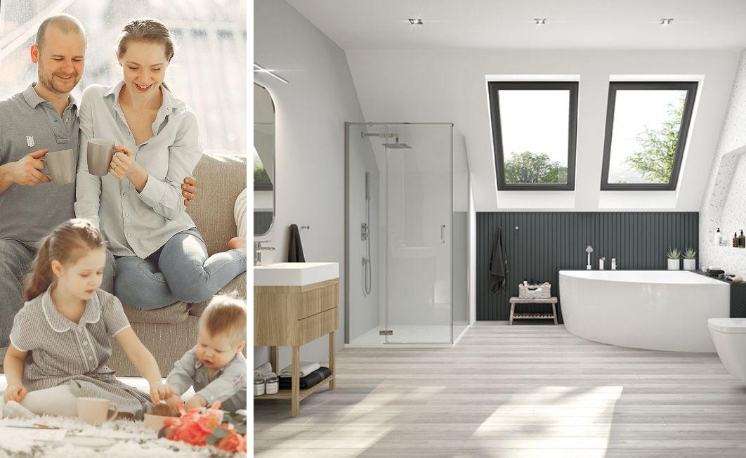 Family bathroom - it is simple
