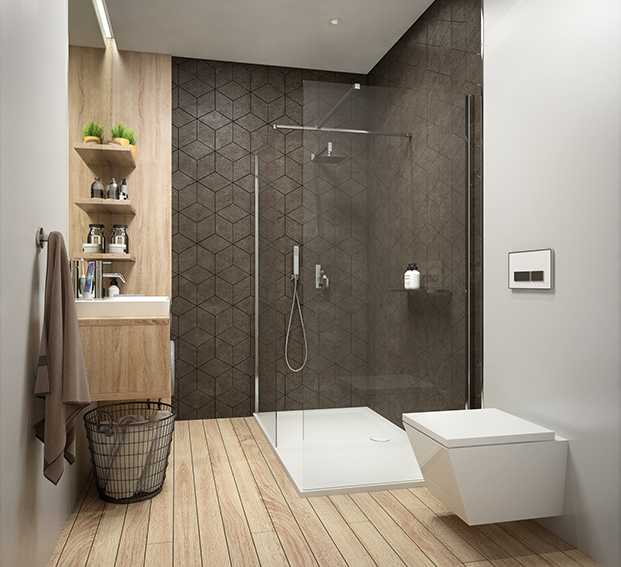 R-evolution in the creation of shower enclosures from SANPLAST SA