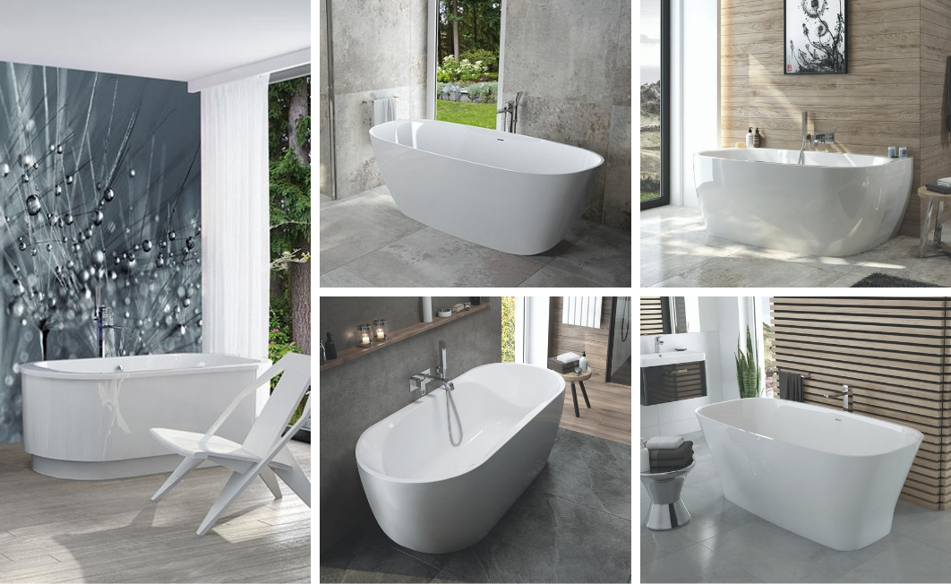 A complete bathtub solution made by SANPLAST SA in your bathroom