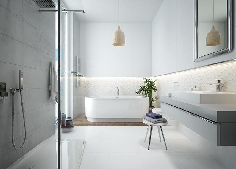 Jak ożywić wnętrze łazienki?