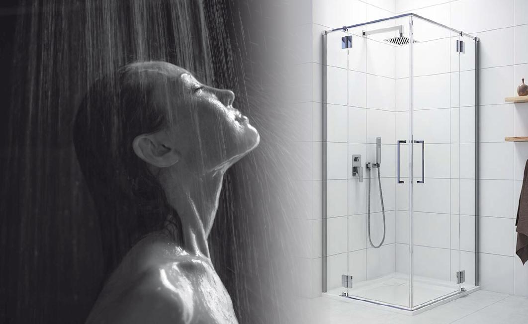Komfortowy prysznic ze Space Line